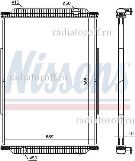 радиатор Рено премиум
