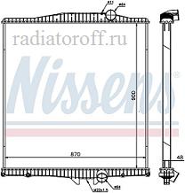 радиатор вольво fh12/16 широкий