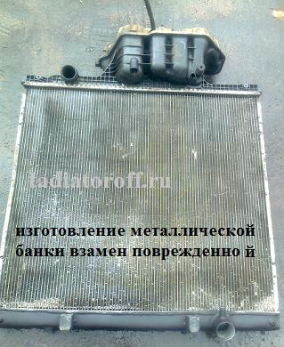 радиатор ман тгс