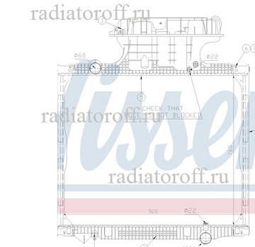 радиатор ман