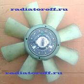 вискомуфта вентилятора охлаждения с крыльчаткой скания
